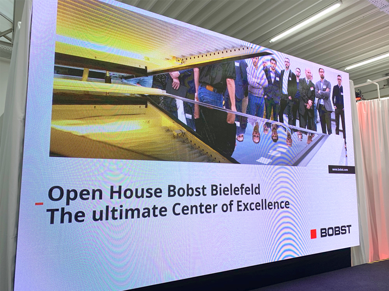 Reproflex attended Bobst open house