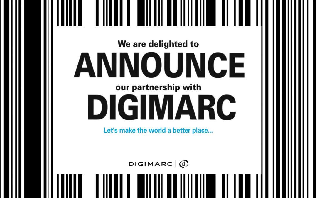 Partnership with Digimarc